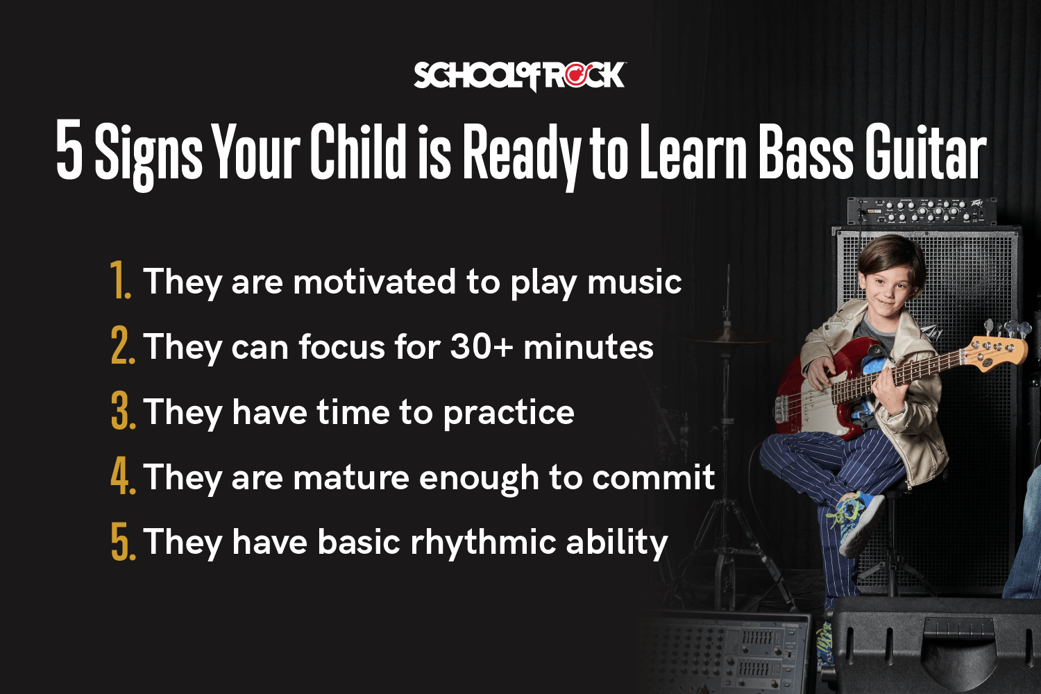 best age to learn bass guitar