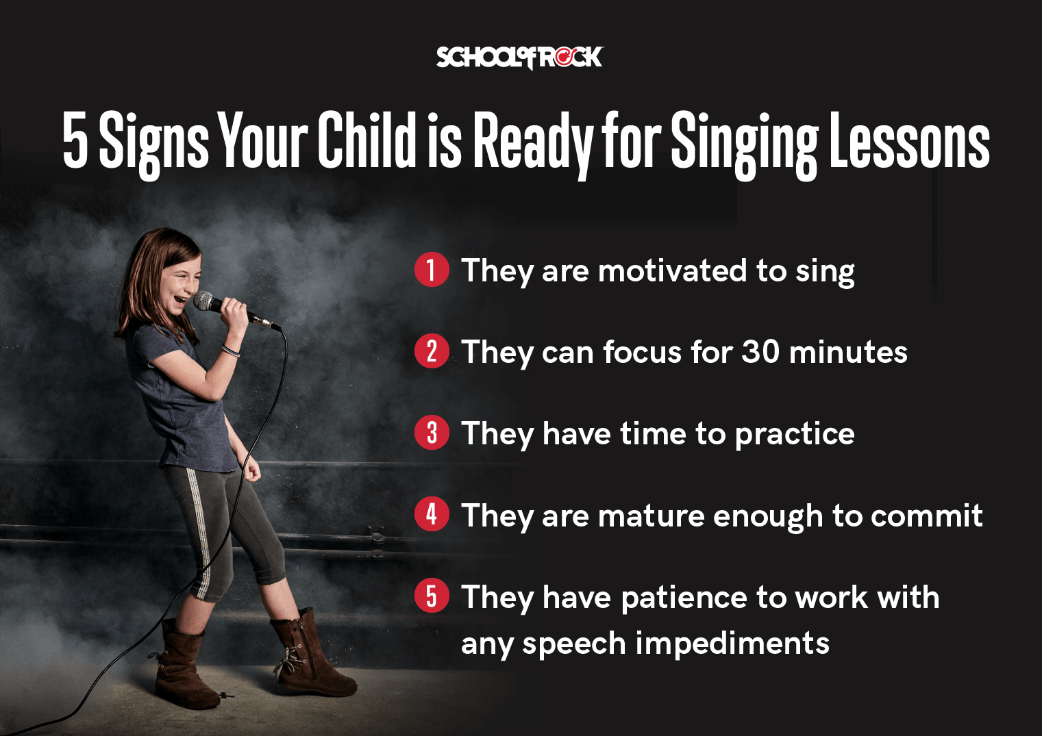 5 signs your child is ready for singing lessons