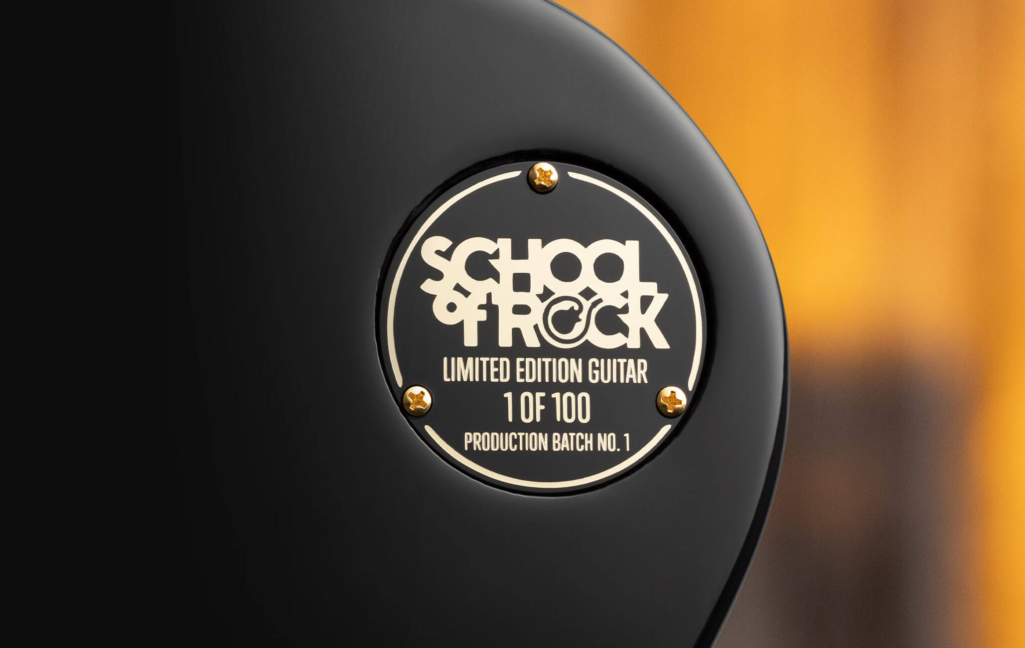 Limited Edition Gibson Les Paul for School of Rock