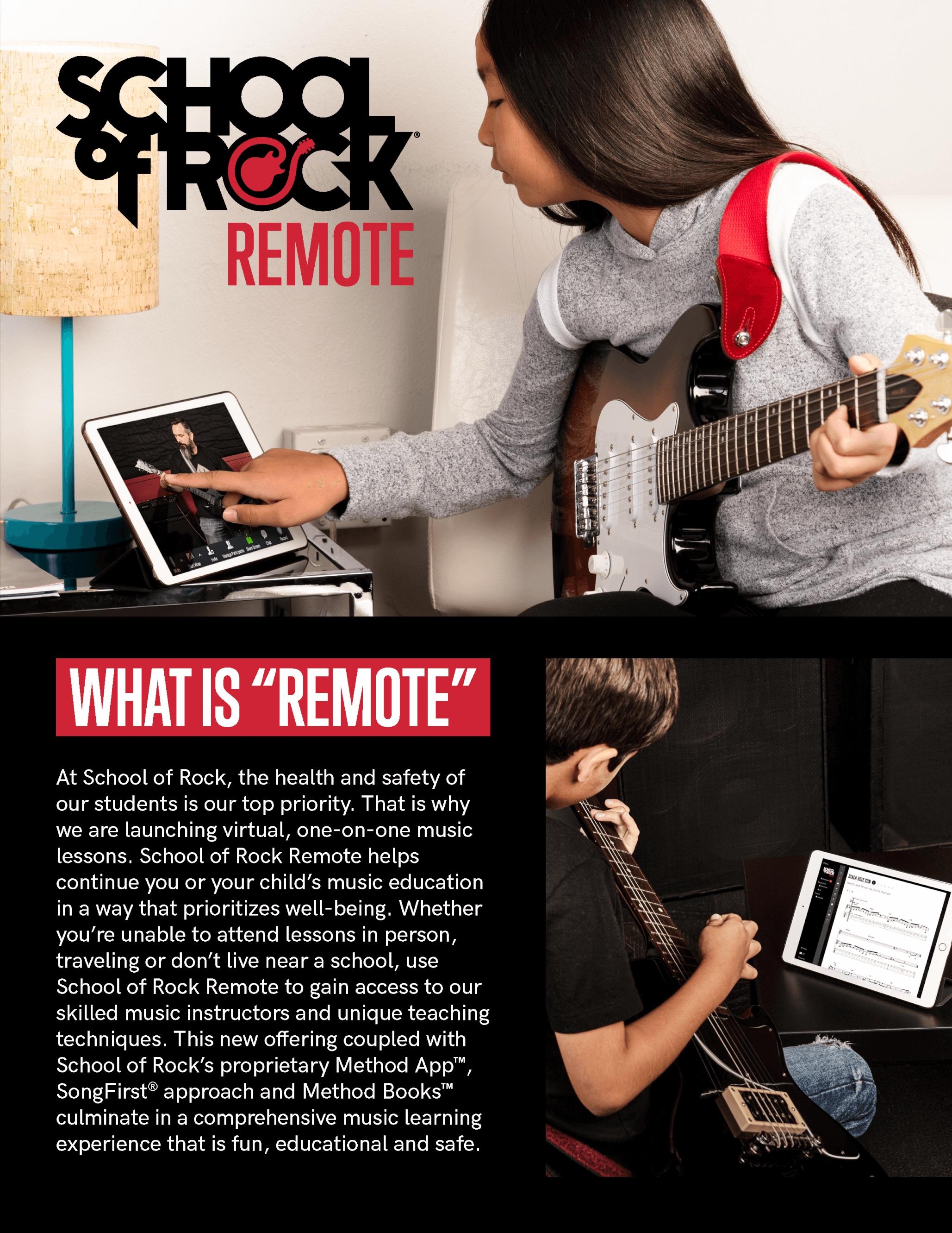 School of Rock Remote