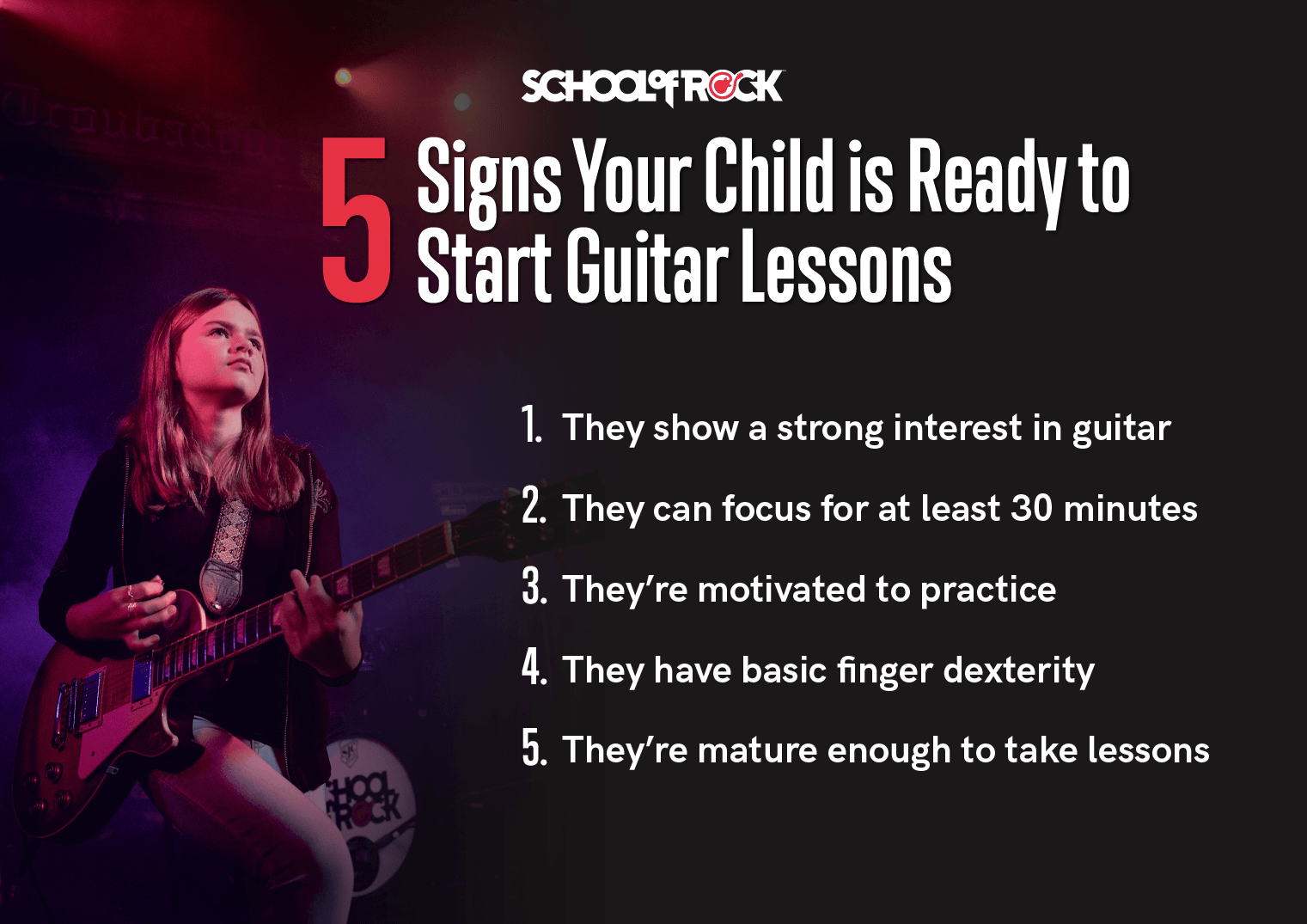 5 signs your child is ready to start guitar lessons