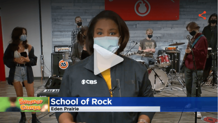 School of Rock Summer Camps as seen on WCCO CBC