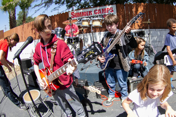 Modern Rock * 5 Day Summer Camp * Ages 7-18 * No Experience Required * Space Is Limited*