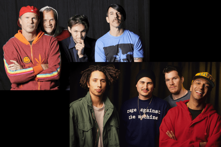 Red Hot Chili Peppers vs Rage Against The Machine Camp