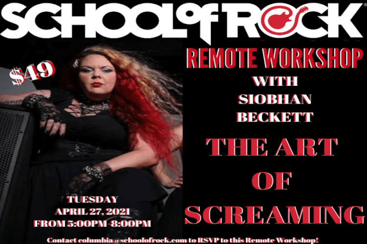 The Art of Screaming Workshop (Remote)