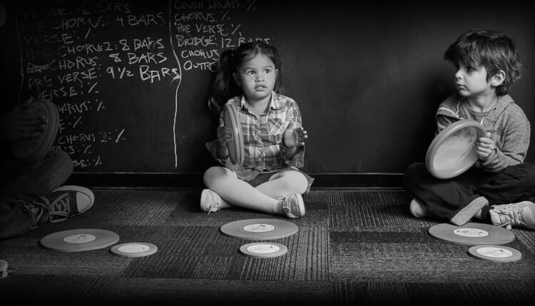 School of Rock ofrece un programa de música para niños em edad pré-escolar