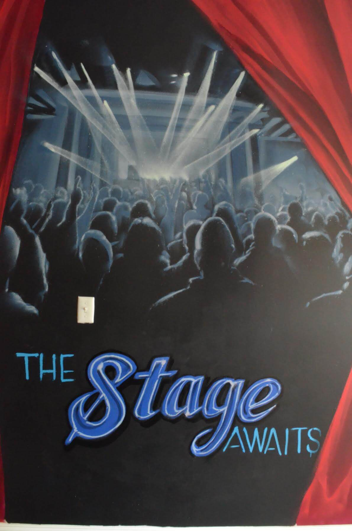 When you enter our school you know the stage awaits.