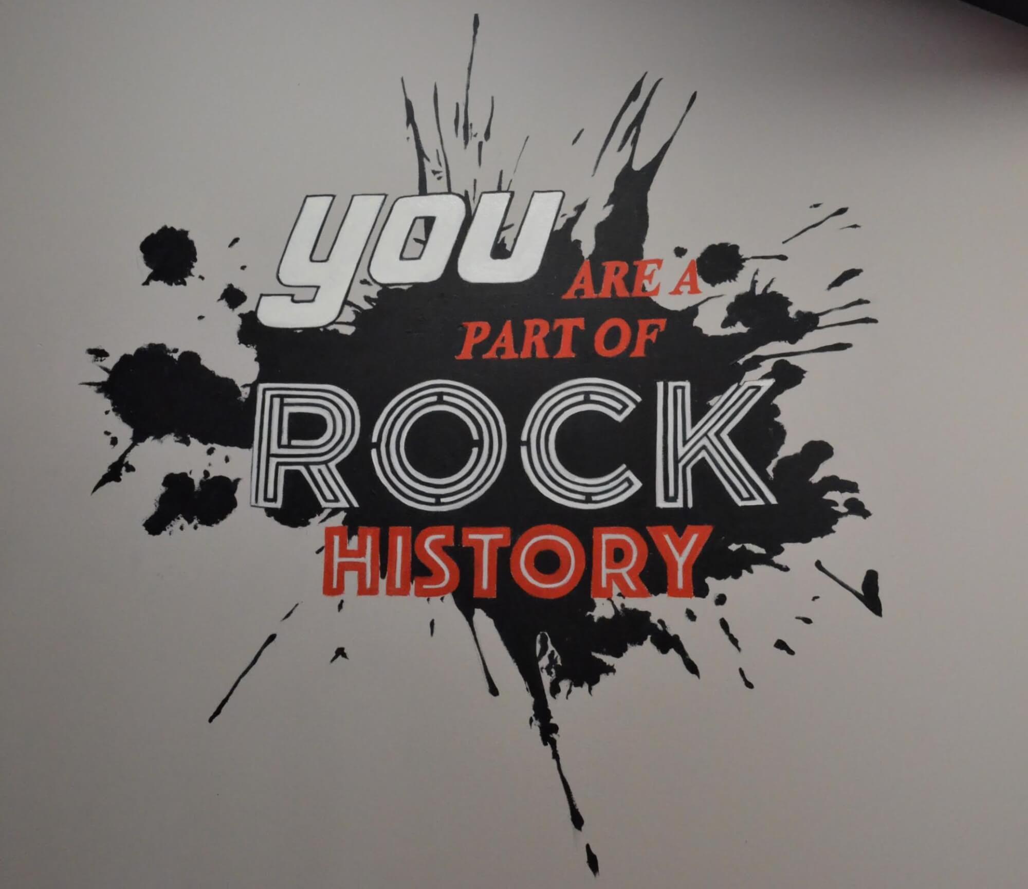 One of our mottos at School of Rock Hoboken.