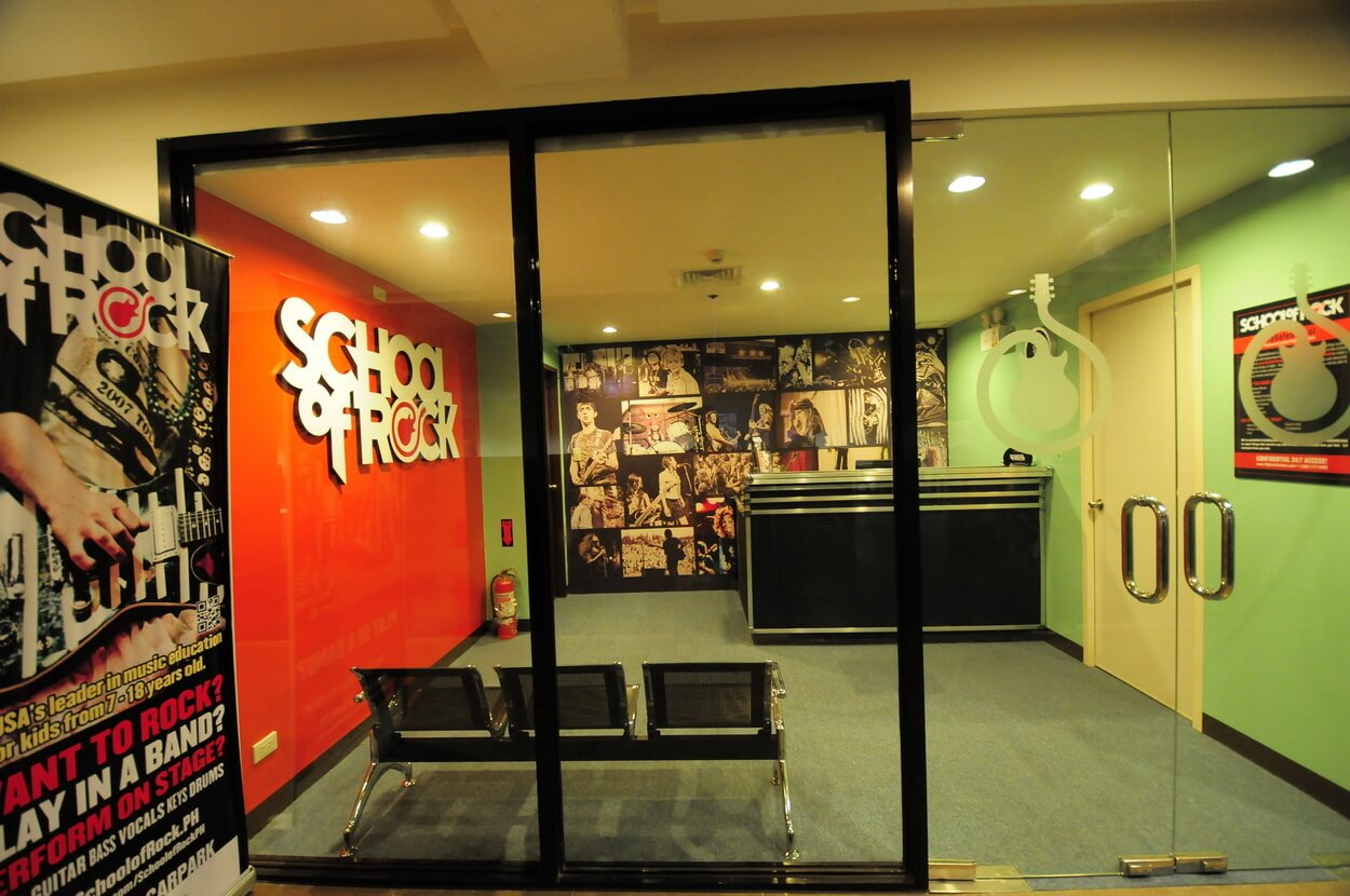 School of Rock Philippines Lobby