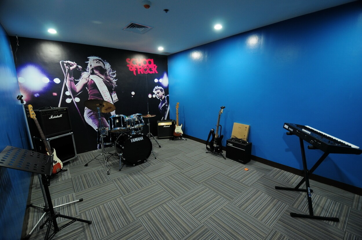 School of Rock Philippines Jam Room