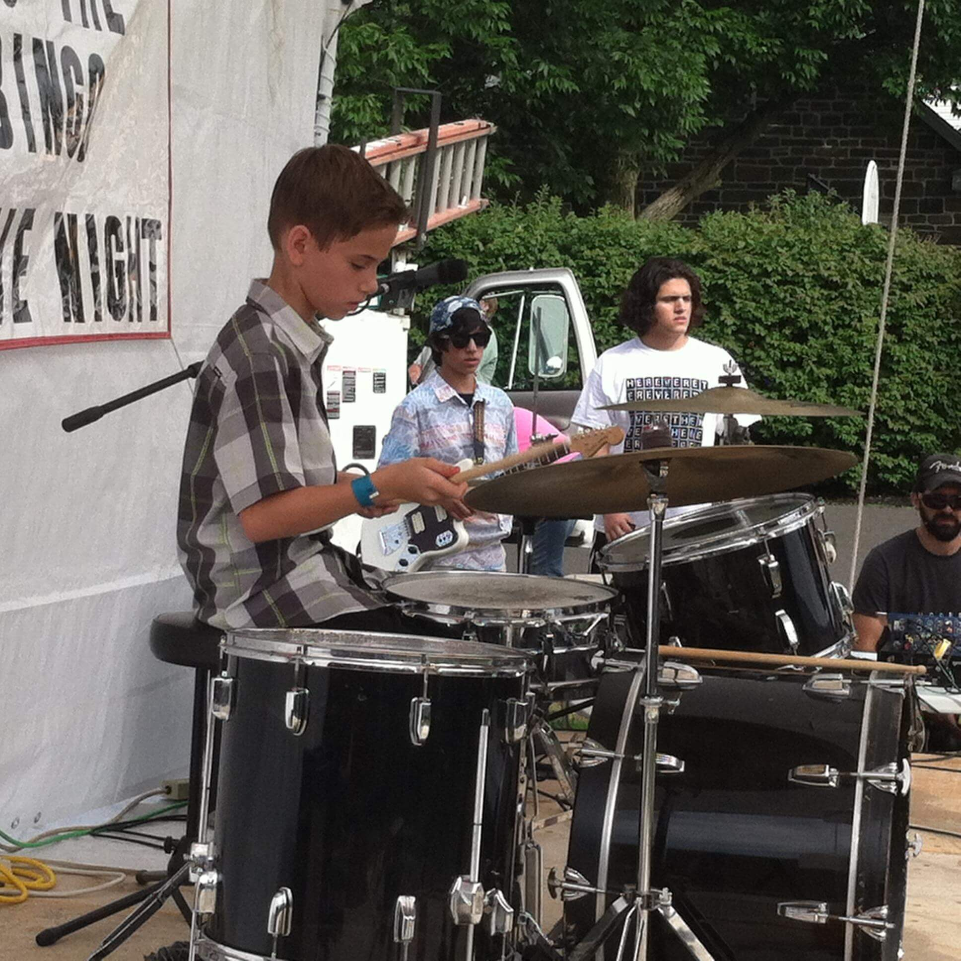 Students of School of Rock Doylestown's Performance Program play live music at local venues, just like real rockstars!
