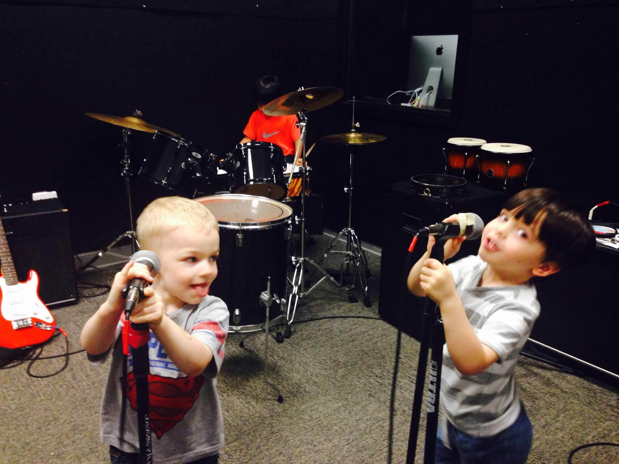 Never too young to rock!