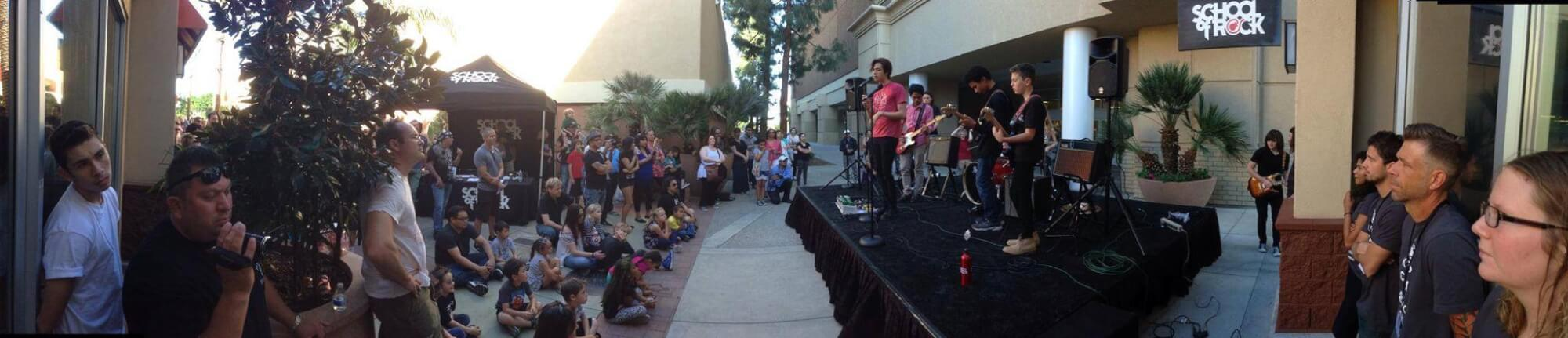Grand Opening with School of Rock Burbank kids