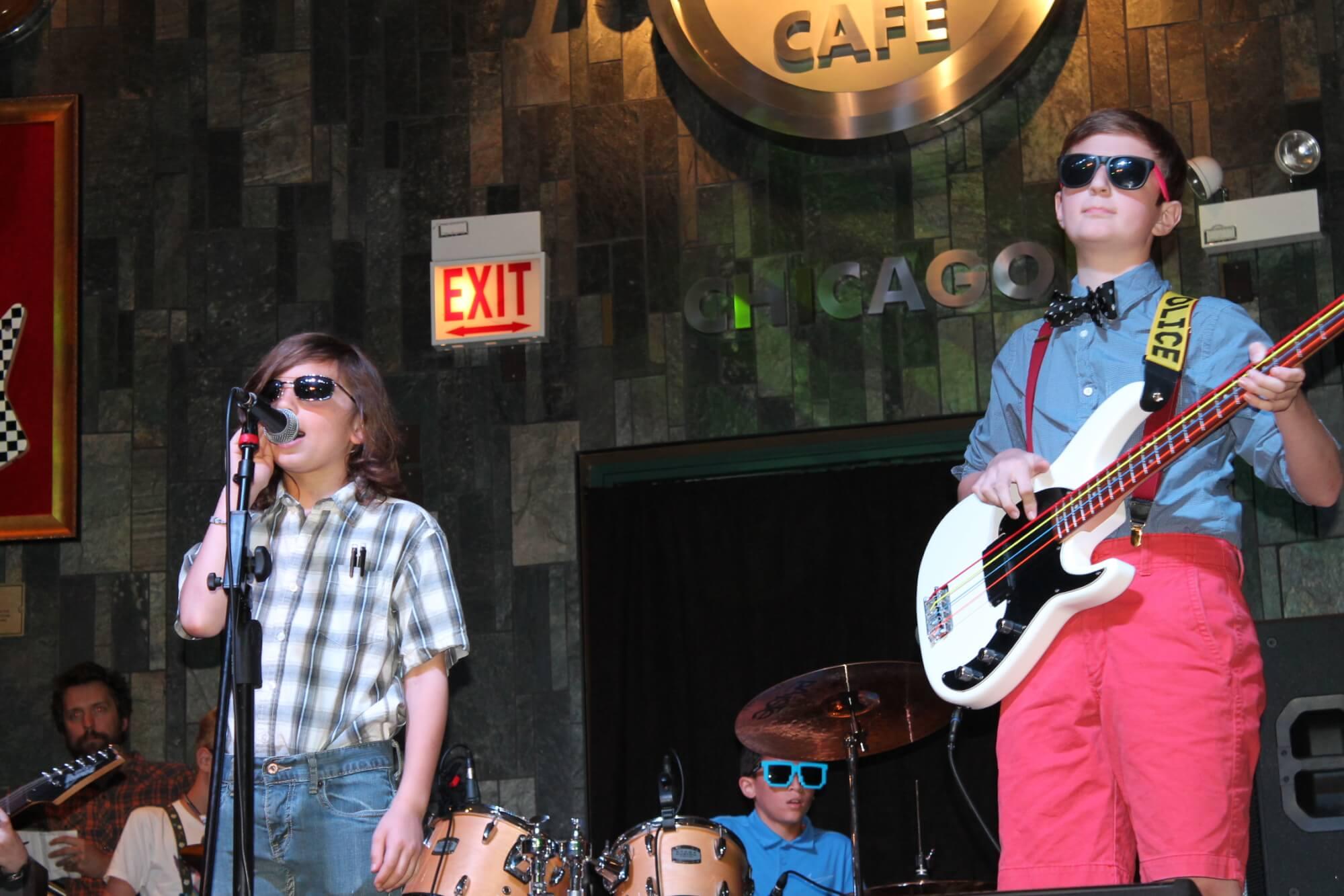 Nerd Rock at the Hard Rock Cafe!