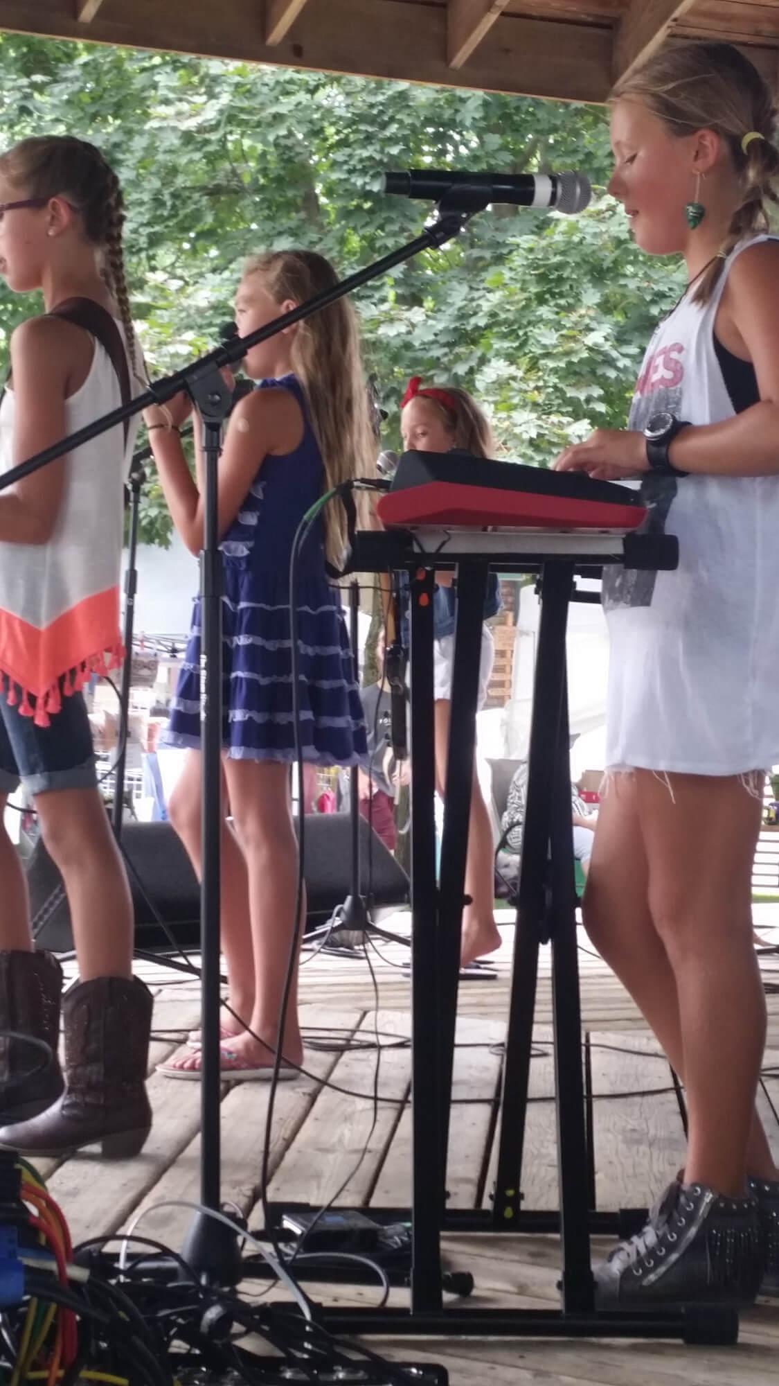 Our students perform at Dexter Daze.