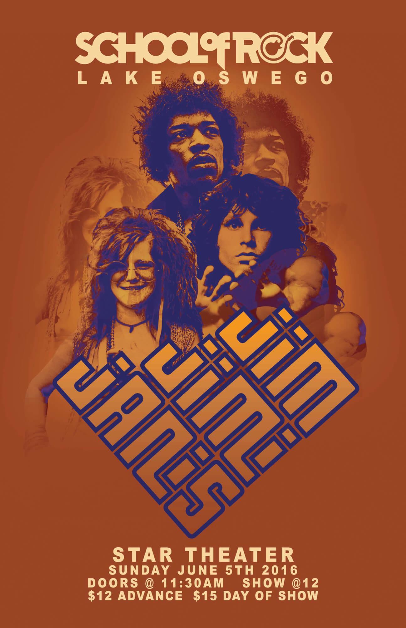 Jimi, Jim and Janis!!