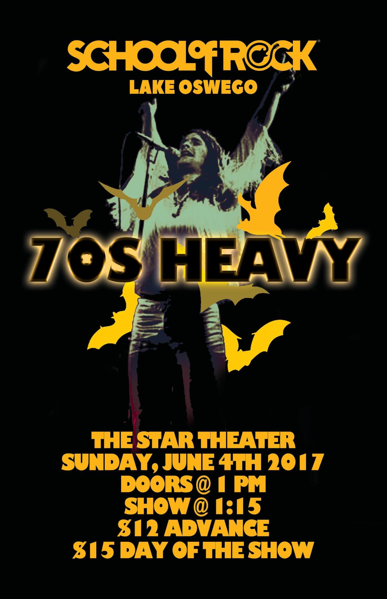 70's HEAVY!!