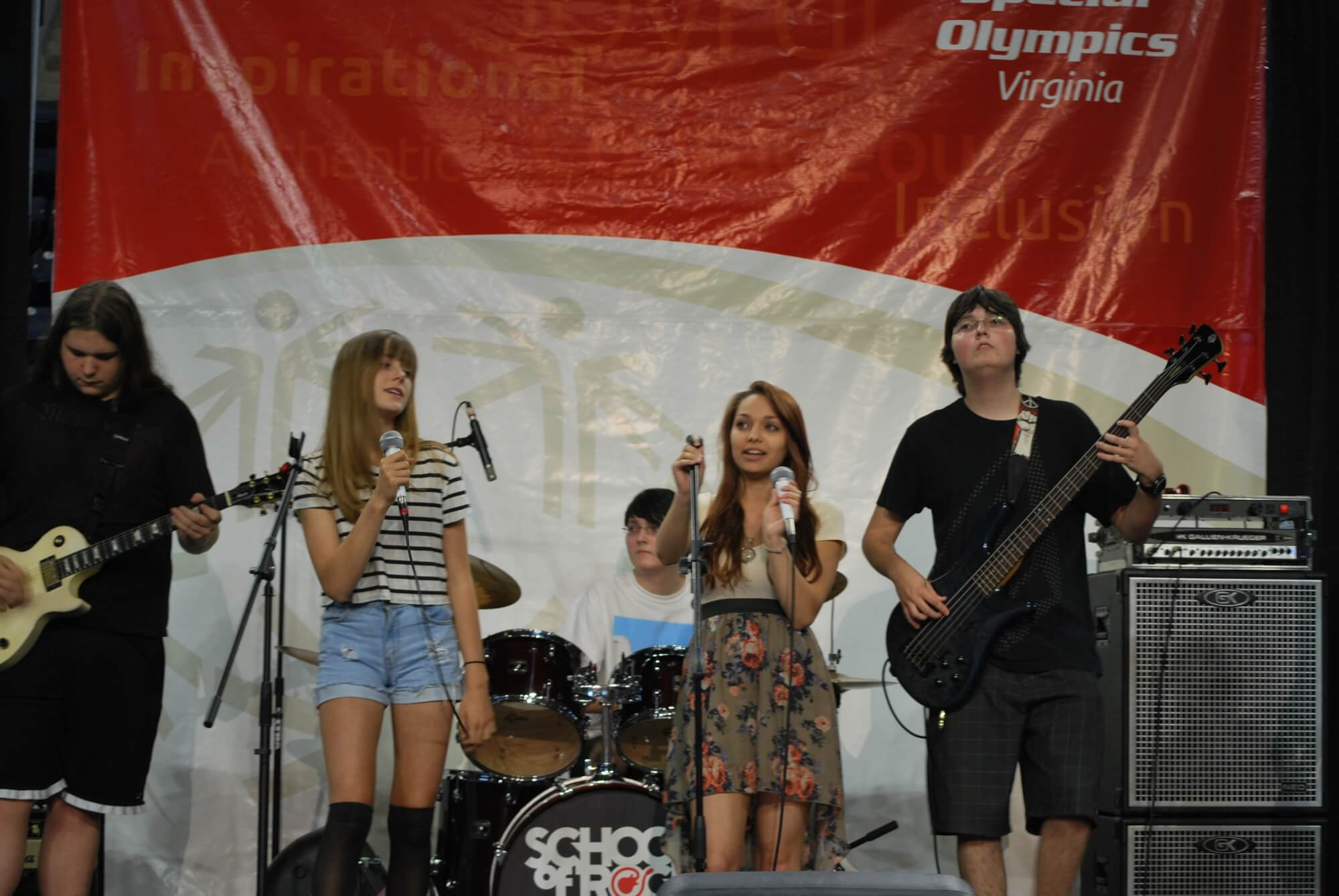 SOR Short Pump House Band plays for the Special Olympics of Virginia