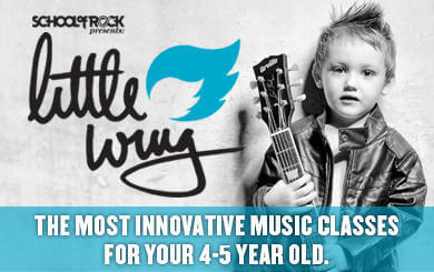 Little Wing for our youngest rockers ages 3-5!