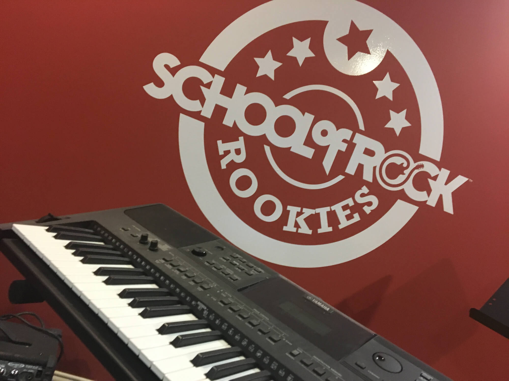 At School of Rock Calgary South we have our very own Rookies room and it rocks!