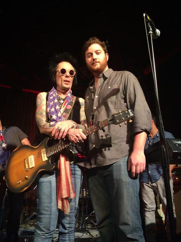 Earl Slick gets to jam with Adam! School of Rock convention, October 2014