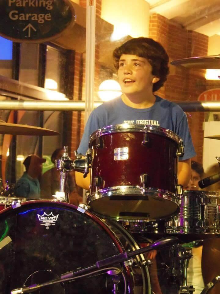 We teach drums