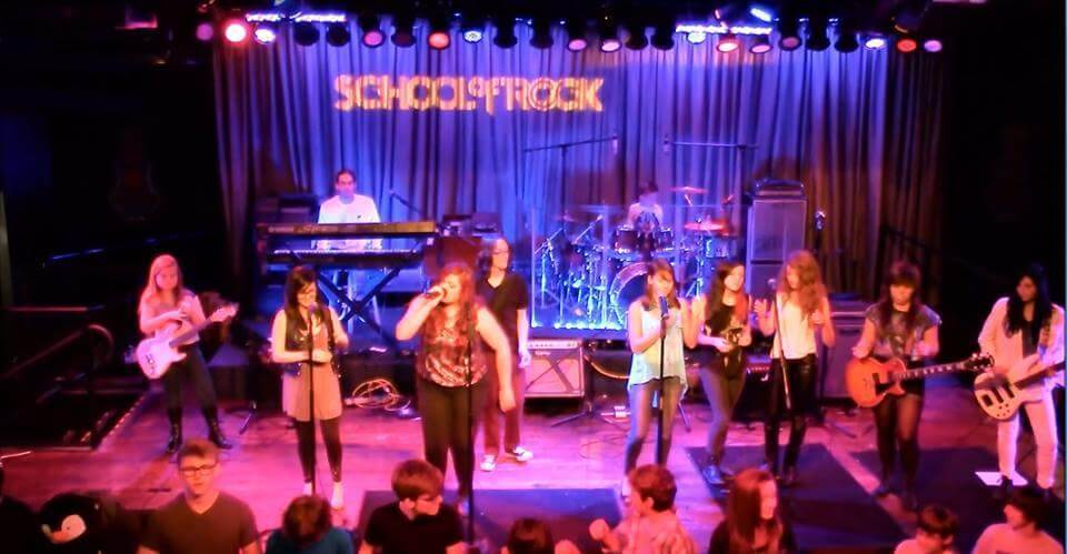 School of Rock Oviedo Performing A Tribute to Queen, a Spring 2014 Seasonal Show, at BB King's Blues Club, Pointe Orlando