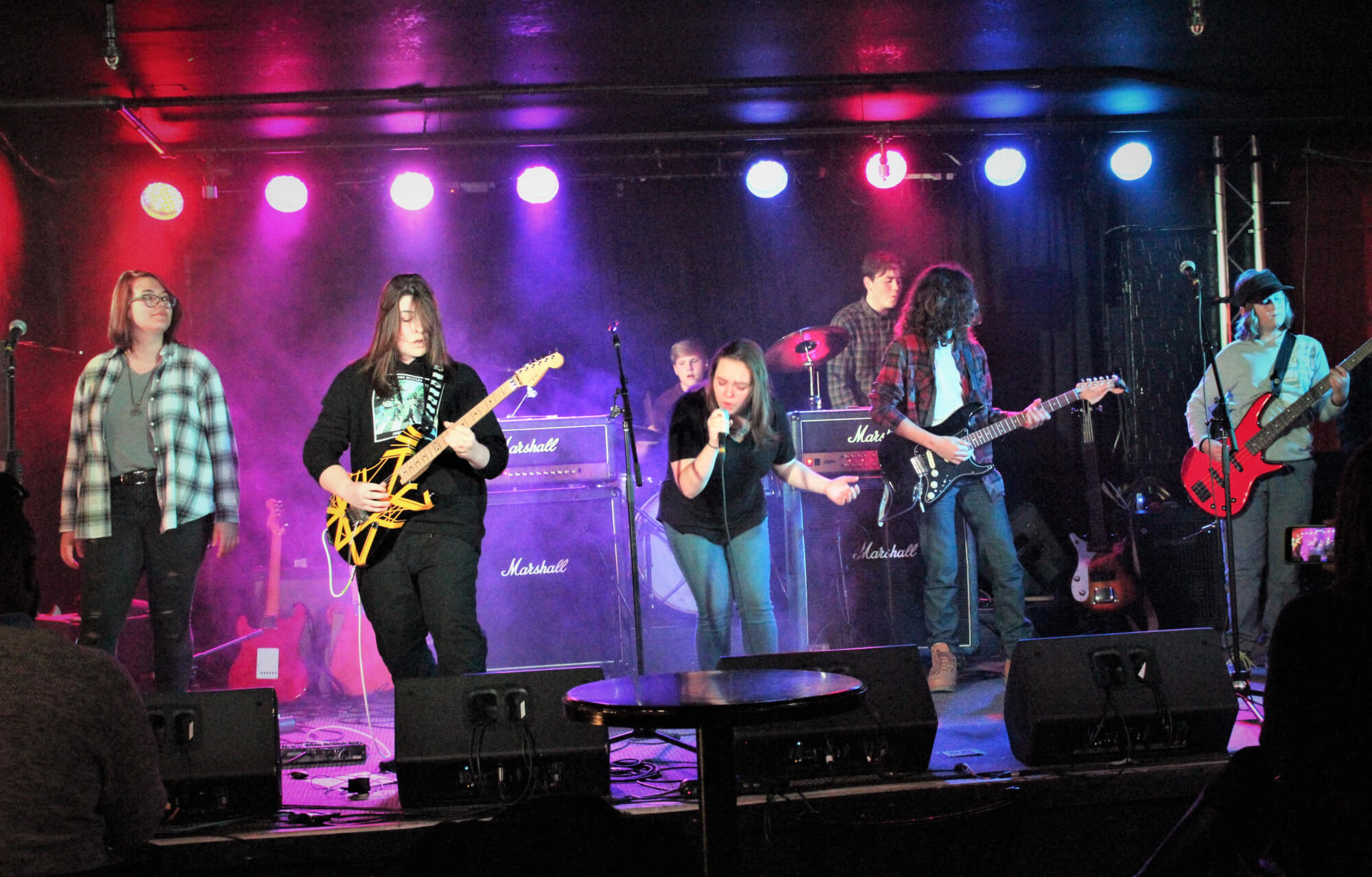 Our House band at The Brass Monkey