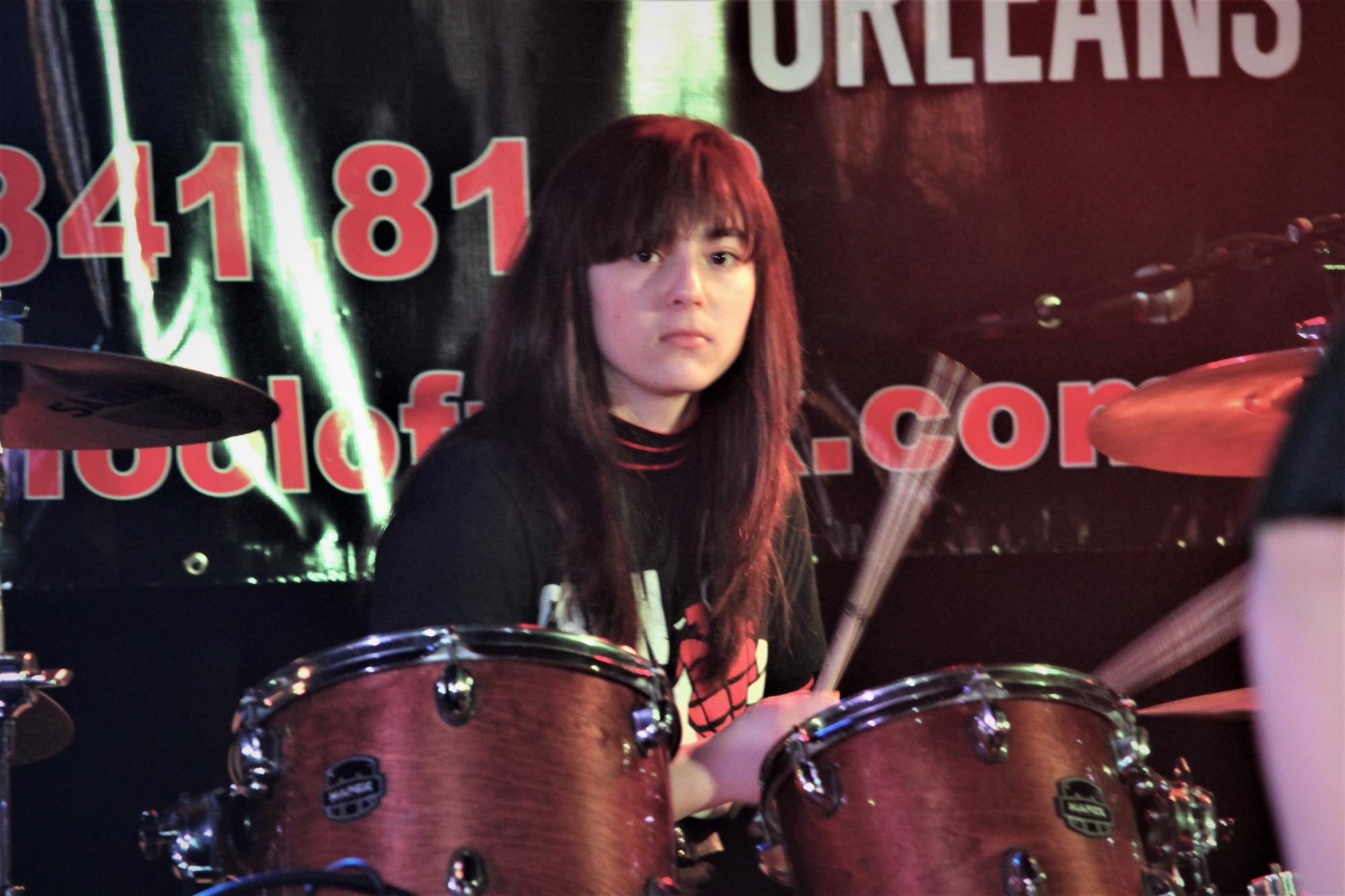 Girl drummers rock!