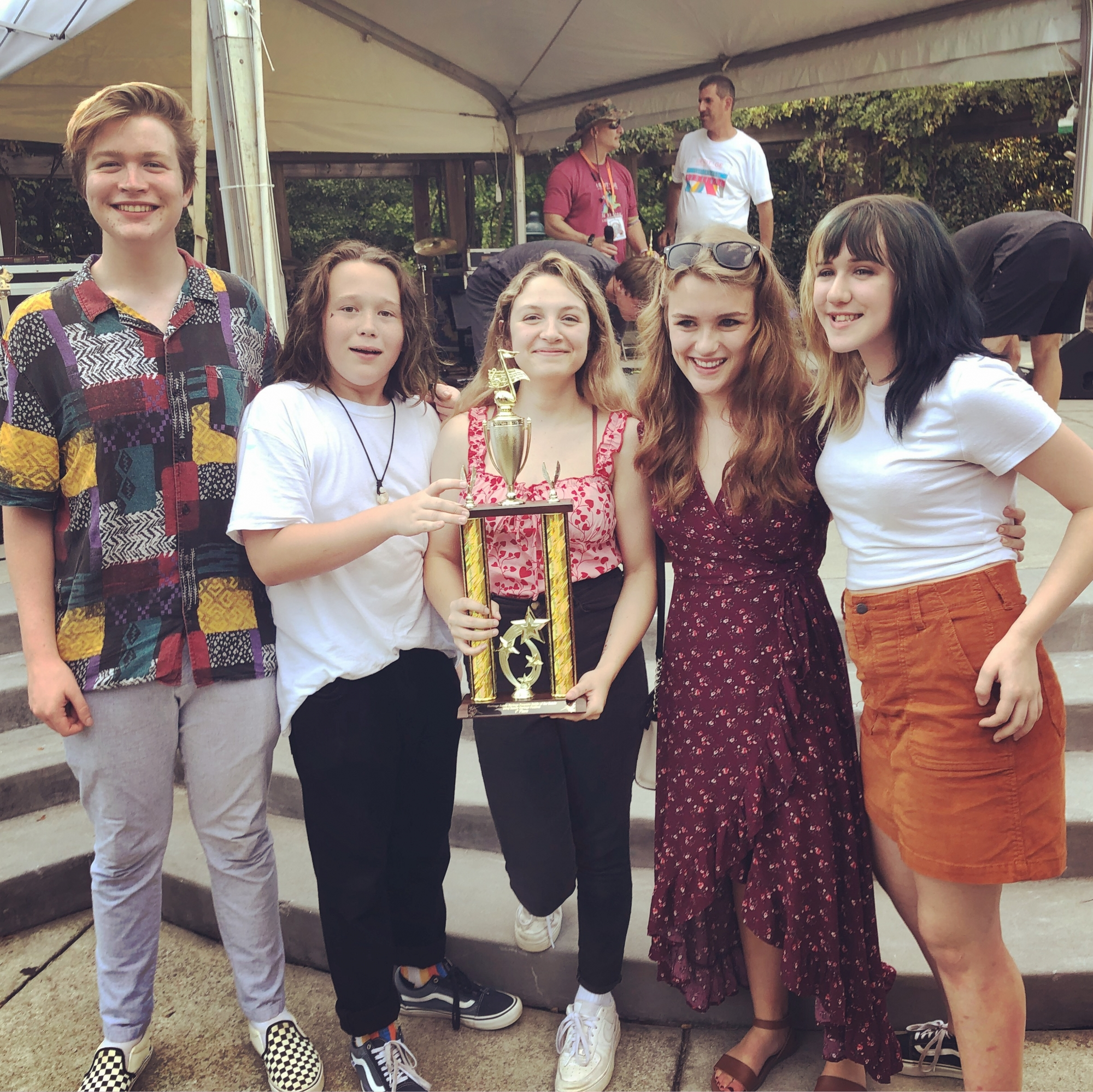 The SOREC House Band wins the 2019 Heritage Sandy Springs Battle of the Bands
