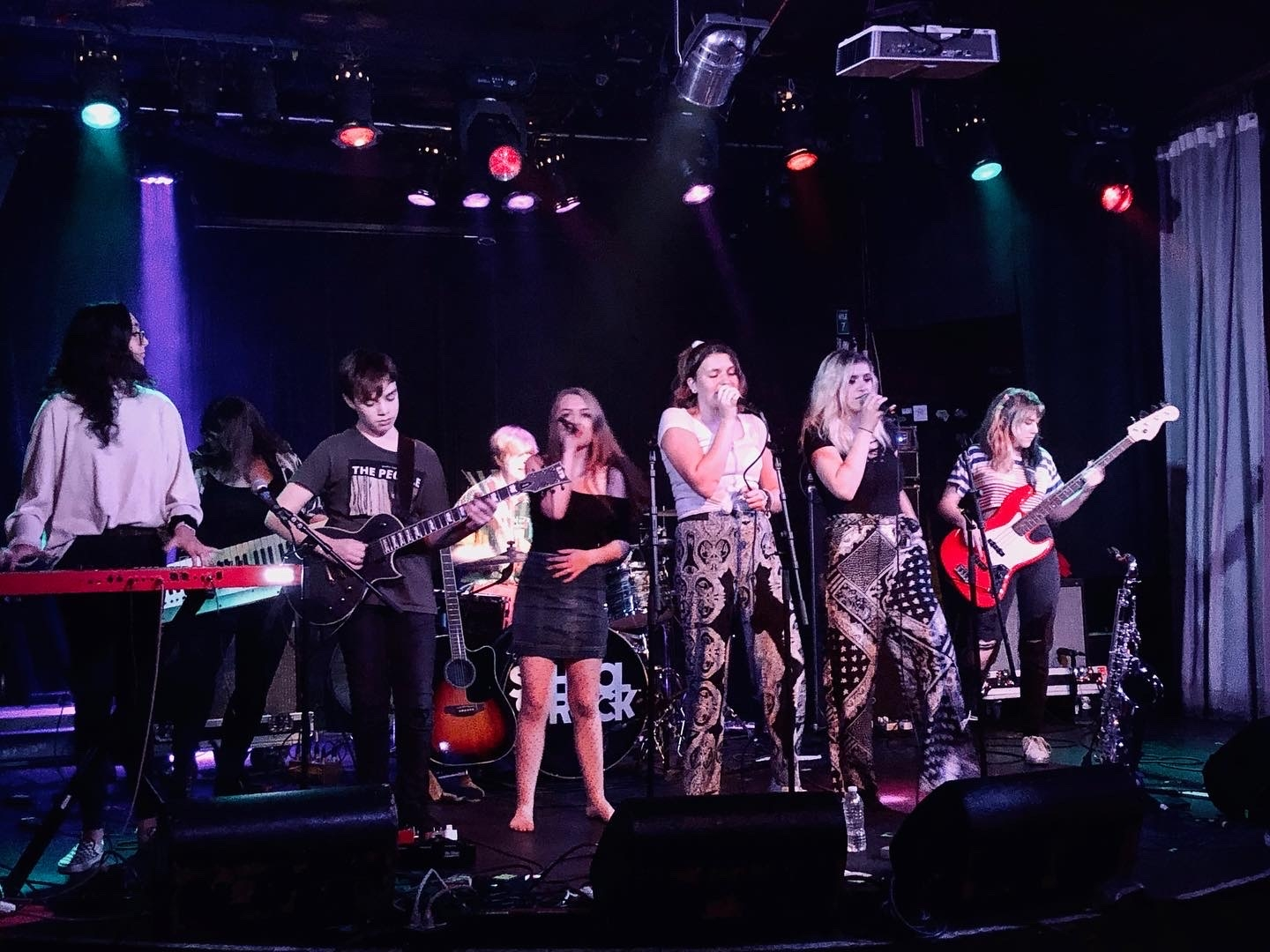 The SOREC House Band performs at Atlanta's Smith's Olde Bar