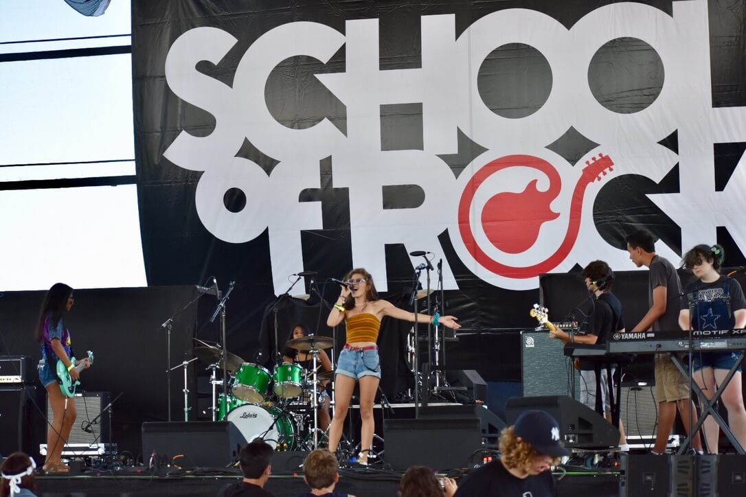 Students appear at Summerfest 2018 in Milwaukee, WI.