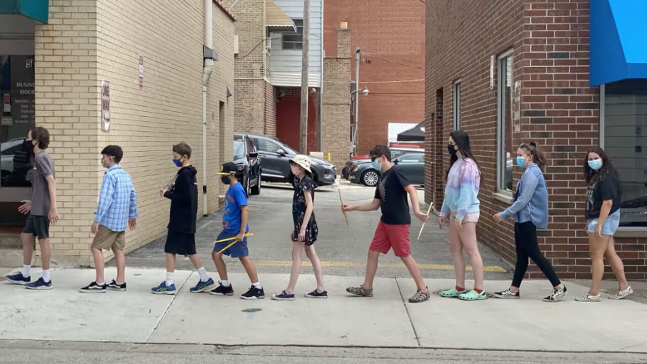 Students Participate in Beatles Camp