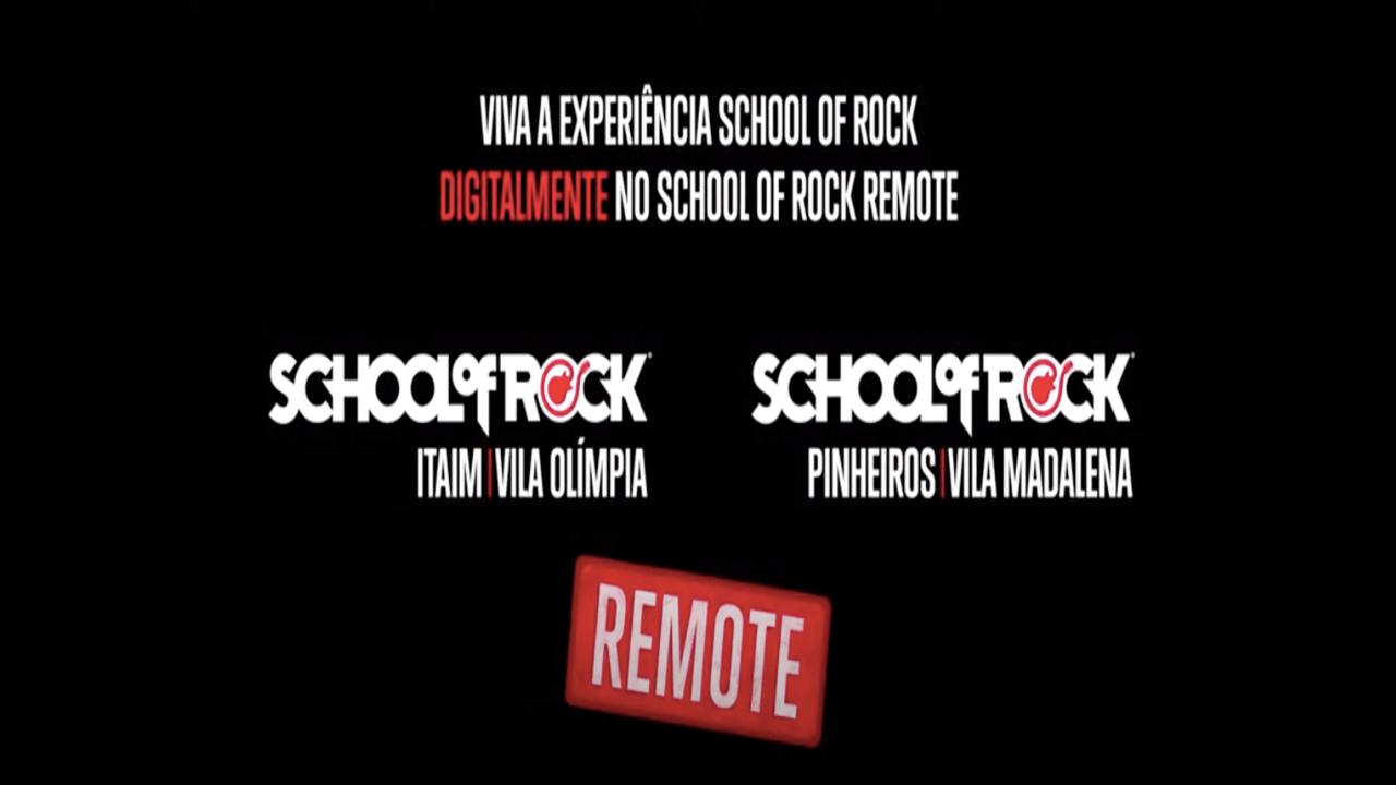 School of Rock Itaim-Vila Olímpia Remote