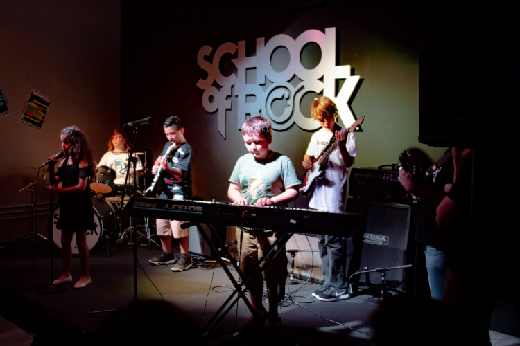 Rock101 Summer Camp school of rock saint Petersburg