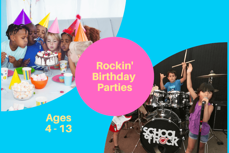 Rock n Roll Birthday Party for Kids