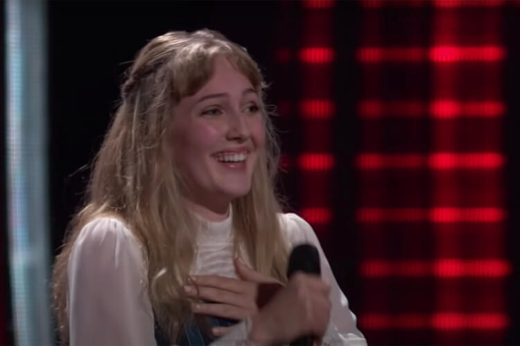 Lauren Frihauf on 'The Voice'