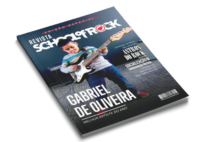 Capa de Revista School of Rock