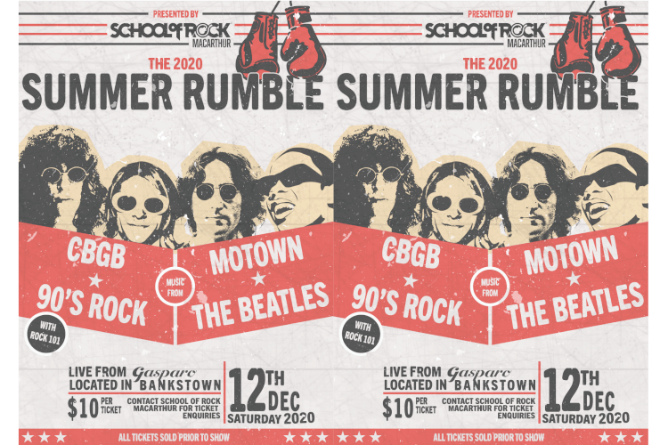 Summer Rumble Poster