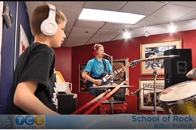 Twin Cities Live Visits School of Rock Eden Prairie