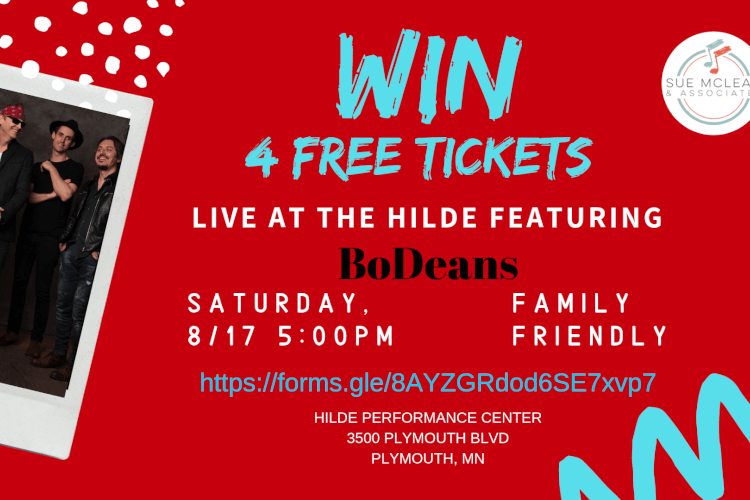 Win 4 tickets to the BoDeans