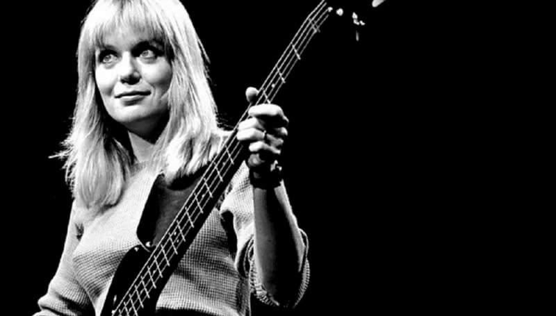 Tina Weymouth, bass player