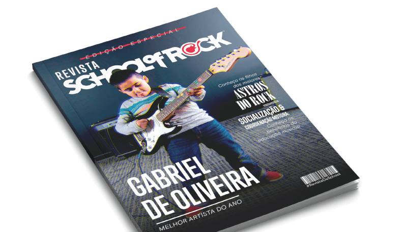 Capa de Revista School of Rock