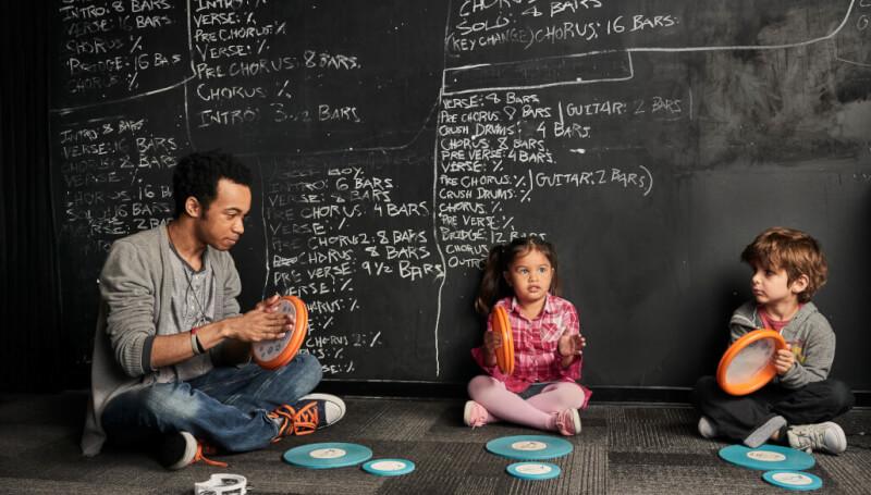Aula de musicalização infantil