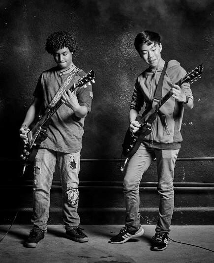 Workshops musicais para adolescentes