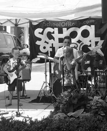 Workshops musicais de outono da School of Rock