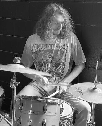 Drum Teacher, Guitar Teacher Jake Tarpley