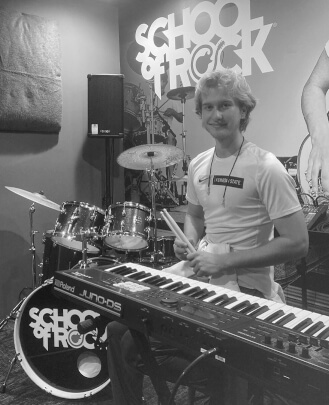 Keyboard Teacher, Drum Teacher Alex Deen