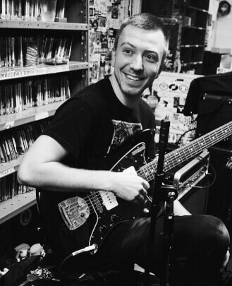Guitar Teacher, Bass Guitar Teacher Chad Leaf