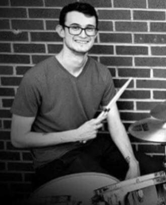 Drum Teacher, Bass Guitar Teacher Drake Newcomb